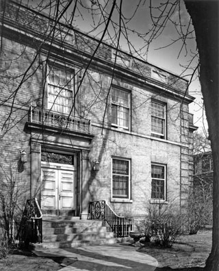 Mount Sinai's first home at 100 Yorkville