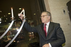 Joe Mappa Lighting Ceremony for Hannukah