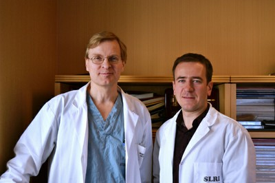 Dr. Keith Jarvi and Dr. Andrei Dabrovich