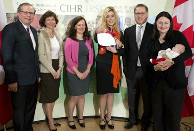 CIHR announcement, Eve Adams