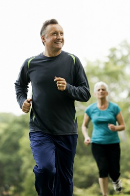 Healthy Adults Running