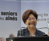 The Honourable Alice Wong, Minister of State for Seniors