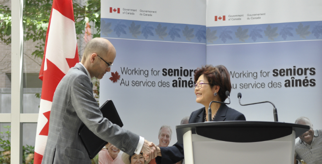 Kevin Goldthorp and the Honourable Alice Wong