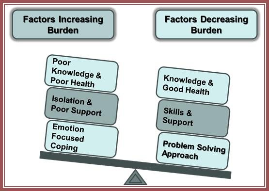 Factors Increasing and Decreasing Burden