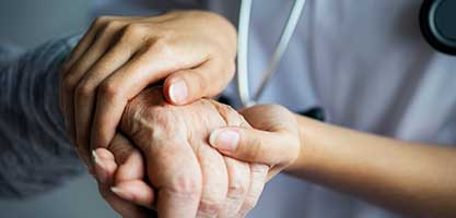 Health Professionals caring for someone with Dementia