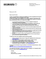AODA Letter 2010