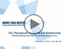 Therapeutic Nurse-Patient Relationship