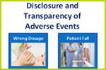 Disclosure & Transparency of Adverse Events