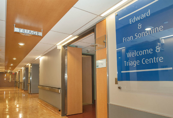 Edward and Fran Sonshine Triage Centre
